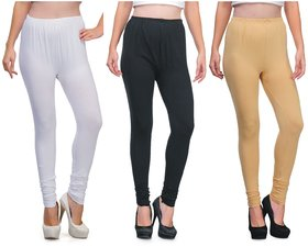 AdiRattan 3 Pcs. Legging Combo - Best Fitting  Fabric
