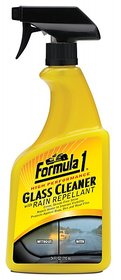 Imported Formula 1 Glass Cleaner with Rain Repellant - 710 ML (Made in USA)
