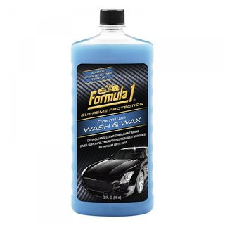 Imported Formula 1 Wash and Wax Liquid - 946 ML (Made in USA)