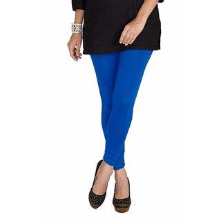 Jsr brothers Stylish Woolen Solid Legging blue