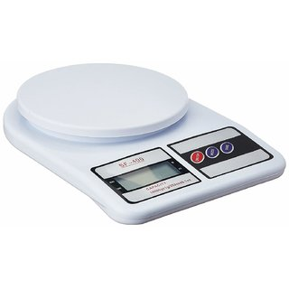 Deals e Unique Electronic Kitchen Digital Weighing Scale, Multipurpose (White, 10 Kg)