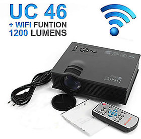 UNIC UC46 LED Wifi Projector HD 1080p-HDMI/SDCard/AV/US