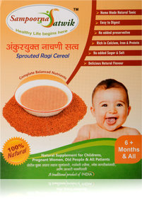 Sampoorna Satwik Sprouted Ragi Cereal, 200gm