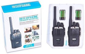 Shribossji Black Unisex Interphone Walkie Talkie Set For Kids/Children
