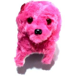 Nawani Soft Toy Fantastic Puppy Battery Operated Back Flip Jumping Dog Jump Run Toy Kid, Color May Vary