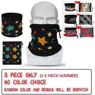 Headband Men Sport Scarf, Neck Warmer Set of 3