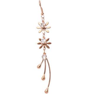 DNO Sterling golden Earrings for Girls and Women Sterling golden Drop Earring for girls and women