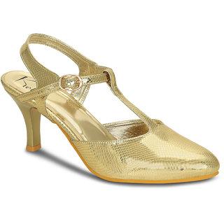 9b1ba683933 Buy Kielz-Gold-Stiletto-Sandals Online - Get 63% Off