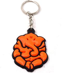 Faynci First Pray Ganesha Silicone Key Chain