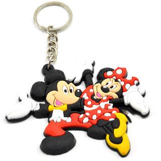 Faynci Tom and Jerry cartoon PVC soft Key Chain