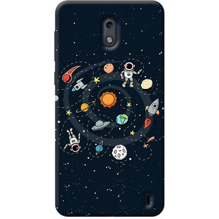 FurnishFantasy Mobile Back Cover for Nokia 2 (Product ID - 1949)