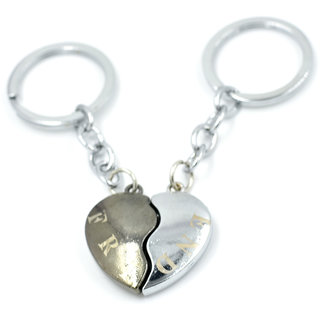 Faynci Friend Couple High Demanding Quality Key Chain for Gifting for Valentine Day/Birthday /Friendship
