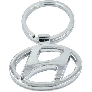 Faynci Hyundai Heavy Metal High Quality Alloy Chrome Key Chain for Hyundai Lover