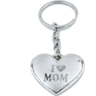 Faynci Quality I Love Mom Key Chain for Gifting
