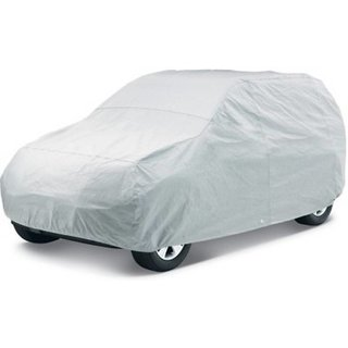 ACS Car body cover Dustproof and UV Resistant for Alto K -10 - Colour Silver