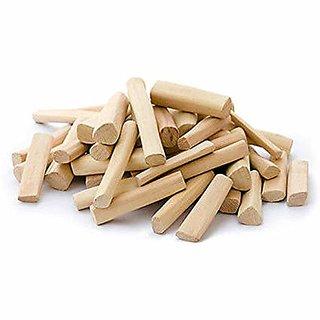 Antique DEDICATED TO GOD Wooden Sandalwood Sticks -25-30 Gm