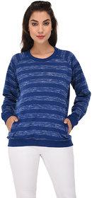 PURYS Blue sweatshirt