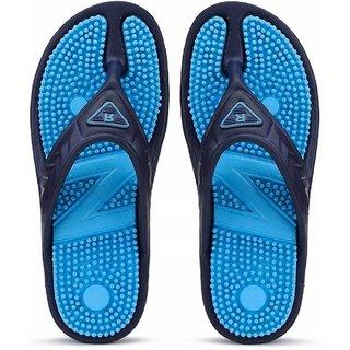 Edee Relax-2 Navy Blue EVA Casual Slipper For Men