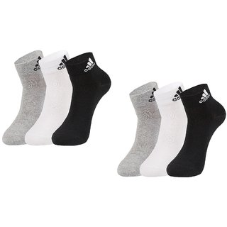 Adidas Original Unisex Sports Ankle Socks - 6 Pairs