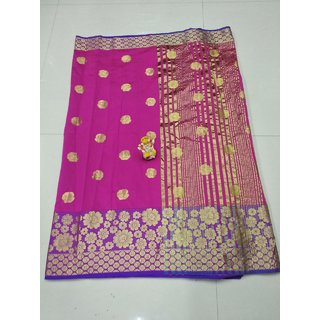 Pemal Designer Cotton Silk Saree With Jequard Boarder and Running Blouse Pics BBC113A
