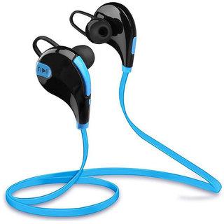 Callmate Bluetooth QY7 Jogger Headphone- Sky blue