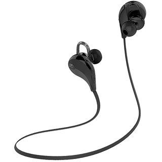 Callmate Bluetooth QY7 Jogger Headphone- Black
