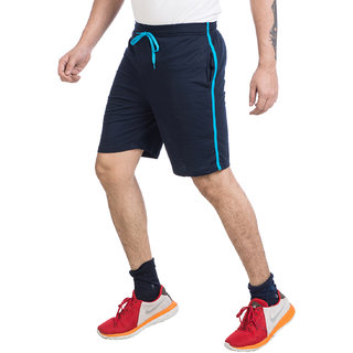 0d17a6eb Buy V D Sales, Blue Cotton Shorts / Half Track Pant For Casual Wear Online  @ ₹550 from ShopClues