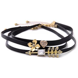 Set of 3 Choker Necklace for Women