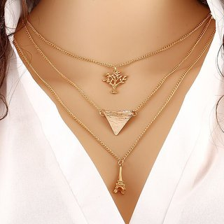 Women's Charms Multi Layered Necklace