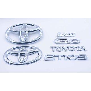Customize Toyota Etios Liva GD Emblem