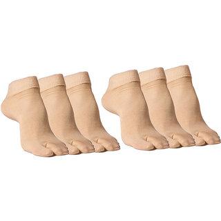 Kotton Labs Women's  Ankle Socks Pack of 6