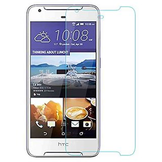 VALGA Premium Quality Unbreakable Flexible Shatterproof Hammer Proof Tempered Glass/Screen Guard for HTC Desire 628