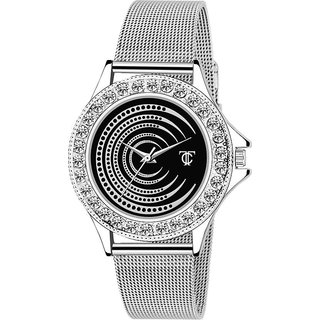 Women Silver Seffer Analog watch for Girls and Women Watch - For Women