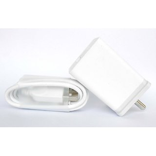 Mobile Charger for Oppo F1s / F3/Plus, F5/Youth, F7, A83, A37f, A37, A71, A57(White)