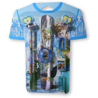6th Dimensions T-Shirt shaped Kids Birthday Gift Pack