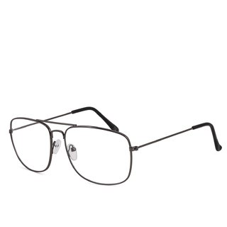 Royal Son Retro Square Spectacle Frame For Men And Women (RS0023SF|50|Transparent Lens)