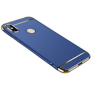 OGW REDMI NOTE 5 PRO - 3 IN 1 CASE COVER GOLD BLUE