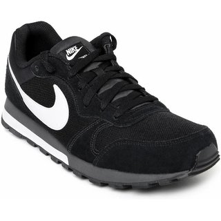 Nike Md Runner 2 Black MenS Running Shoes