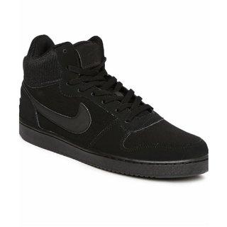 Nike Court Borough Mid Black MenS Running Shoes