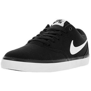 Nike Sb Check Solar Cnvs Black MenS Running Shoes