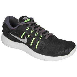 Nike Lunarstelos Black MenS Running Shoes