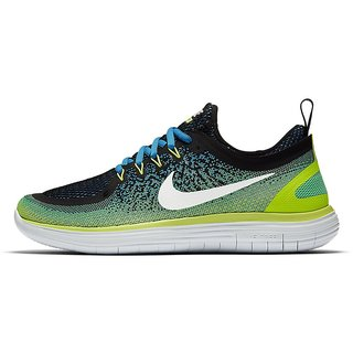b12d80716ad Buy Nike Free Rn Distance 2 Green Men S Running Shoes Online - Get 28% Off