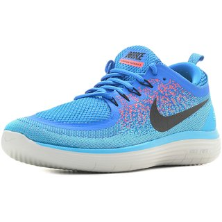 60b65f5763db Buy Nike Free Rn Distance 2 Blue Men S Running Shoes Online - Get 28% Off