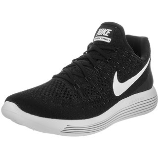 Nike Lunarepic Low Flyknit 2 Black MenS Running Shoes