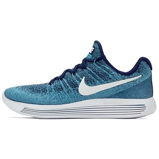 4f0c1d067df Buy Nike Lunarepic Low Flyknit 2 Blue Men S Running Shoes Online ...