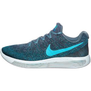 pretty nice 83692 8cbc2 Nike Lunarepic Low Flyknit 2 Blue Men'S Running Shoes