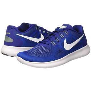 b2d1d0b92b5f Buy Nike Free Rn 2017 Blue Men S Running Shoes Online - Get 28% Off