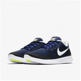 Buy Nike Free Rn 2017 Blue Men S Running Shoes Online - Get 28% Off 4a8f7379737a5