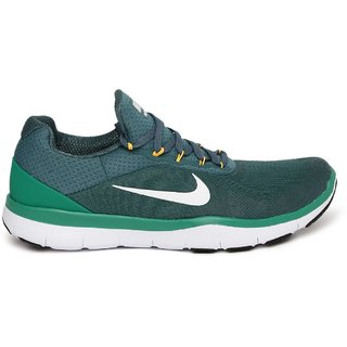 677a74414ad9b Buy Nike Free Trainer V7 Green Men S Running Shoes Online - Get 28% Off