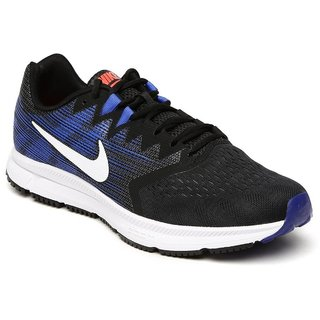 Nike Zoom Span 2 Black MenS Running Shoes